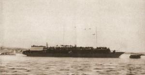 De MV Struma met 781 Joodse vluchtelingen aan boord - Bron: ezekiel38rapture.blogspot.com