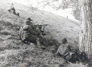 Slag om de Grebbeberg mei 1940 - Bron: historiek.net