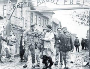 Bevrijding van Auschwitz - bron: jhsg.nl