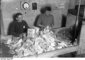 Interbellum - Hyperinflatie in Duitsland 1924 - Bron: www.duitslandinstituut.nl
