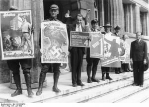 Interbellum - Verkiezingen Duitsland in 1932 - Bron: www.en_.wikipedia.org
