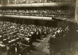 WOI - Volkenbond opgericht 25-01-1919 - Bron: www.geheugenvannederland.nl