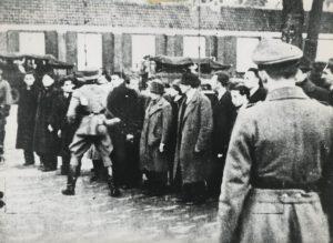 Februaristaking Amsterdam 1941 - bron: tweedewereldoorlog.nl