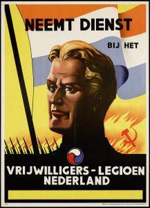 Poster Vrijwilligerslegioen - bron: geheugenvannederland.nl