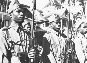 Suriname in de Tweede Wereldoorlog. Bron: tweedewereld.oorlog.nl